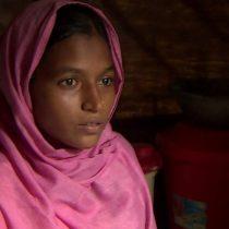 El drama de una niña rohingya: 15 años, huérfana, embarazada y casada con un hombre de 66
