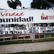 Villa Grimaldi condena ataque al sitio de memoria