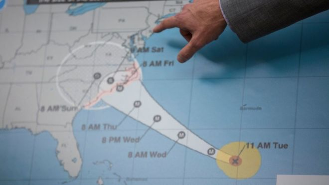Huracán Florence: 3 factores que explican por qué es considerado un ciclón