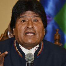 Morales felicita a Chile con un mensaje en el que agradece
