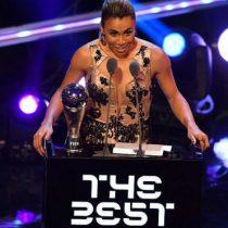 Brasileña Marta gana el Premio The Best a la mejor jugadora de 2018