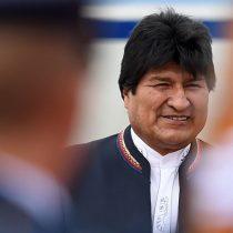 Un optimista Evo Morales a su llegada a La Haya:
