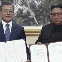 Kim y Moon acuerdan liberar península coreana de armas atómicas