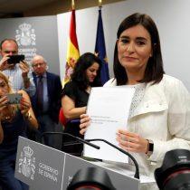 Escándalo por máster trucho hizo caer a la ministra de Sanidad de España