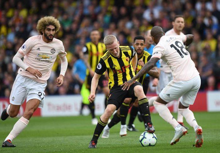 Manchester United de Alexis Sánchez batalla para frenar al sorprendente Watford