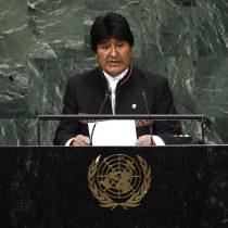 Evo Morales se refiere a demanda marítima en su alocución en la ONU: