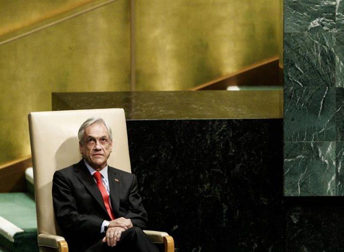 Piñera se propone salvar el planeta en la ONU mientras rechaza firmar el Acuerdo de Escazú