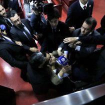 Te Deum Evangélico: José Ancán, quien agredió a periodista, es separado de su cargo