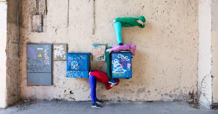 Intervención urbana de coreógrafo austriaco será presentada en Santiago con bailarines locales