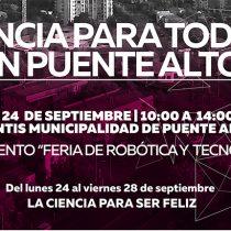 """""""La ciencia para ser feliz"""": Congreso Futuro en Comunas comienza en Puente Alto"""