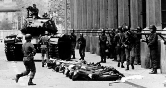 La violencia de las clases dominantes ha estado presente antes y después del Golpe de Estado