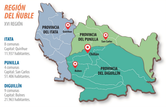 El difícil camino que le espera a la Región de Ñuble