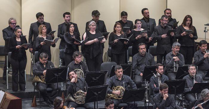 """Concierto """"Las siete últimas palabras de Cristo en la cruz"""" de Haydn en Teatro Universidad de Chile"""