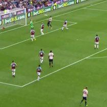 El preciso centro de Alexis Sánchez en el gol del Manchester United