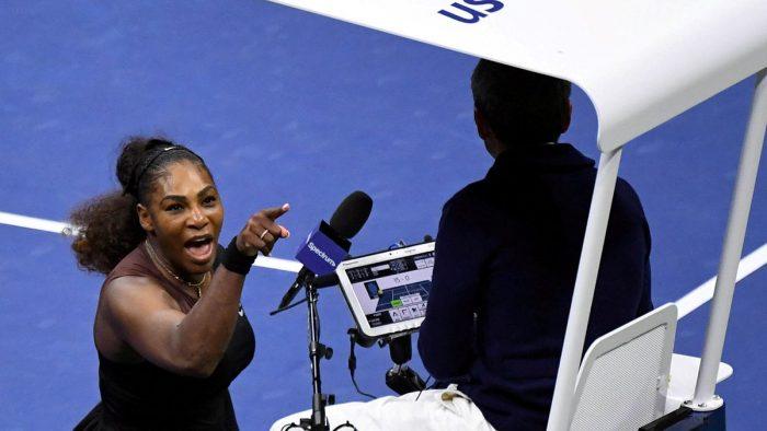 El descargo sexista de Serena Williams en contra del árbitro tras caer en la final del US Open
