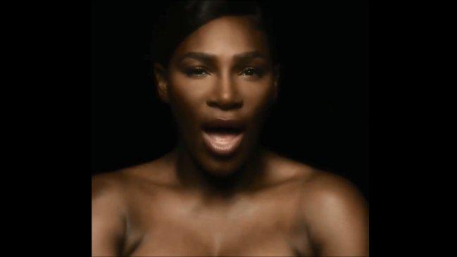 El emotivo desnudo de la tenista Serena Williams para llamar a prevenir el cáncer de mama