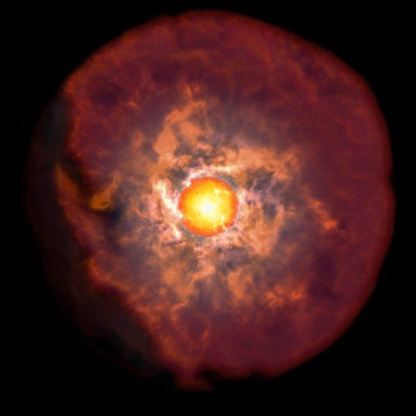 Chilenos descubren momento crítico previo a la muerte de las estrellas