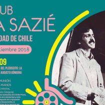 Homenaje que realizaremos a Augusto Góngora en Cine Club Sala Sazié