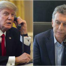 ¿Aló Donald?: Macri habla con Trump por teléfono sobre situación argentina
