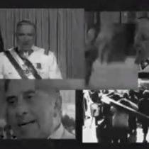 Pinochet se disculpa: el videomontaje que lo hace real