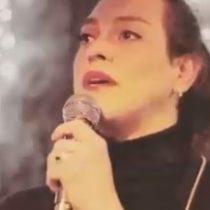 El emotivo poema con el que Daniela Vega recuerda a las víctimas de la dictadura