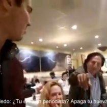 Chileno reconoce a ex presidente peruano involucrado en caso Odebrecht y lo encara