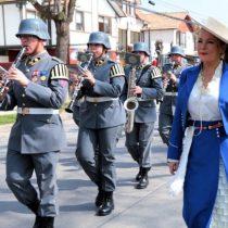 El videomontaje de la Municipalidad de Maipú para mostrar a Cathy Barriga en desfile al que no fue