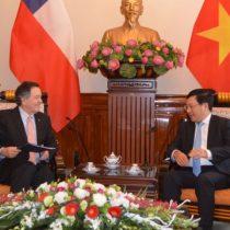 Chile y China buscan impulsar su comercio en medio de guerra comercial