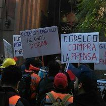 Trabajadores de División Andina de Codelco completan tres semanas en huelga y anuncian manifestación