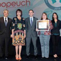 Coopeuch recibe premio Pro Calidad por tercer año consecutivo