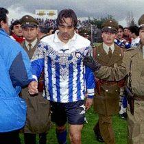 """A 20 años del día que Juan """"Candonga"""" Carreño, pasó a la historia del fútbol chileno y no por sus goles"""