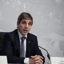 Presidente del Banco Central de Argentina renuncia en medio de crisis y paro nacional