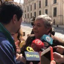En vivo y en directo: la pelea callejera de Luis Plaza con el actual alcalde de Cerro Navia frente a las cámaras