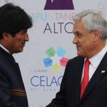 Morales invita a Piñera a cerrar heridas abiertas y pide serenidad a Chile