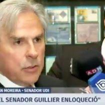 """""""¿Y vo'?"""": La reacción de un periodista cuando Moreira dijo que """"Guillier enloqueció"""""""