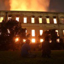 Y si el patrimonio de los museos ardiera, ¿qué sería de la memoria?