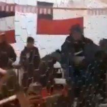 Usaban las mesas como proyectiles: la violenta pelea que ocurrió en una fonda en Talca