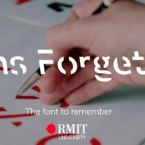 Sans Forgetica, la nueva fuente de letra creada por científicos para ayudarte a memorizar lo que lees