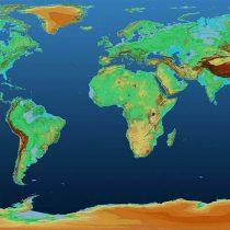 El espectacular mapa en 3D que muestra la superficie de la Tierra como nunca la habías visto