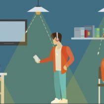 Cómo la luz puede mejorar la conexión de tu celular 5G, la próxima generación de aparatos móviles
