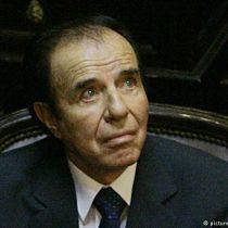 Confirman cuatro años de cárcel contra expresidente Menem en Argentina