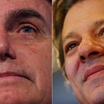 Primeros conteos en Brasil: Bolsonaro a un punto de la victoria y Haddad aspira a la segunda vuelta