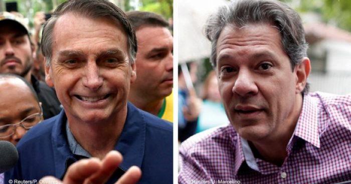 La mayoría de los otros partidos se declaran neutrales entre Bolsonaro y Haddad