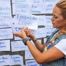 Esposa de Leopoldo López pide a Bachelet visitar Venezuela y constatar estado de