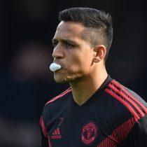 Alexis se lesiona en el entrenamiento y es duda para el partido ante Southampton