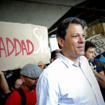 Haddad teme carrera armamentista en Latinoamérica si Bolsonaro vence en Brasil