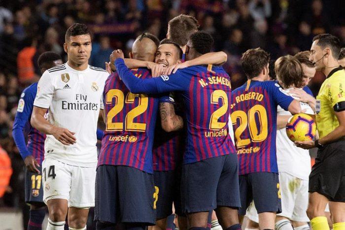 Triunfo histórico: Barcelona golea 5 a 1 al Real Madrid y ahonda su crisis
