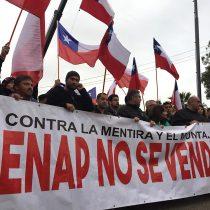 Trabajadores de Enap suspenden bombeo de combustible como protesta tras allanamiento de la PDI