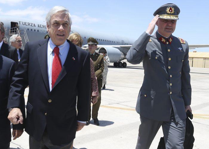 Comandante en jefe del Ejército por viajes irregulares: Los míos