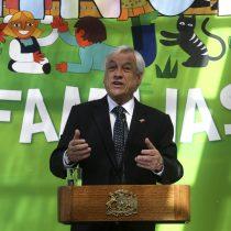 Piñera anuncia que residencias del Sename flexibilizarán horarios de visitas familiares